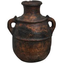 Beautiful Primitive Spanish Clay Pot