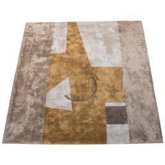 1970s Italian Silk Carpet