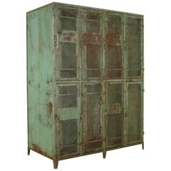 Metal Cabinet by Industrial Vintage, Milan, Italy, 1940s