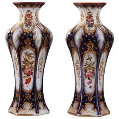 Pair of Napoleon III Porcelain Vases