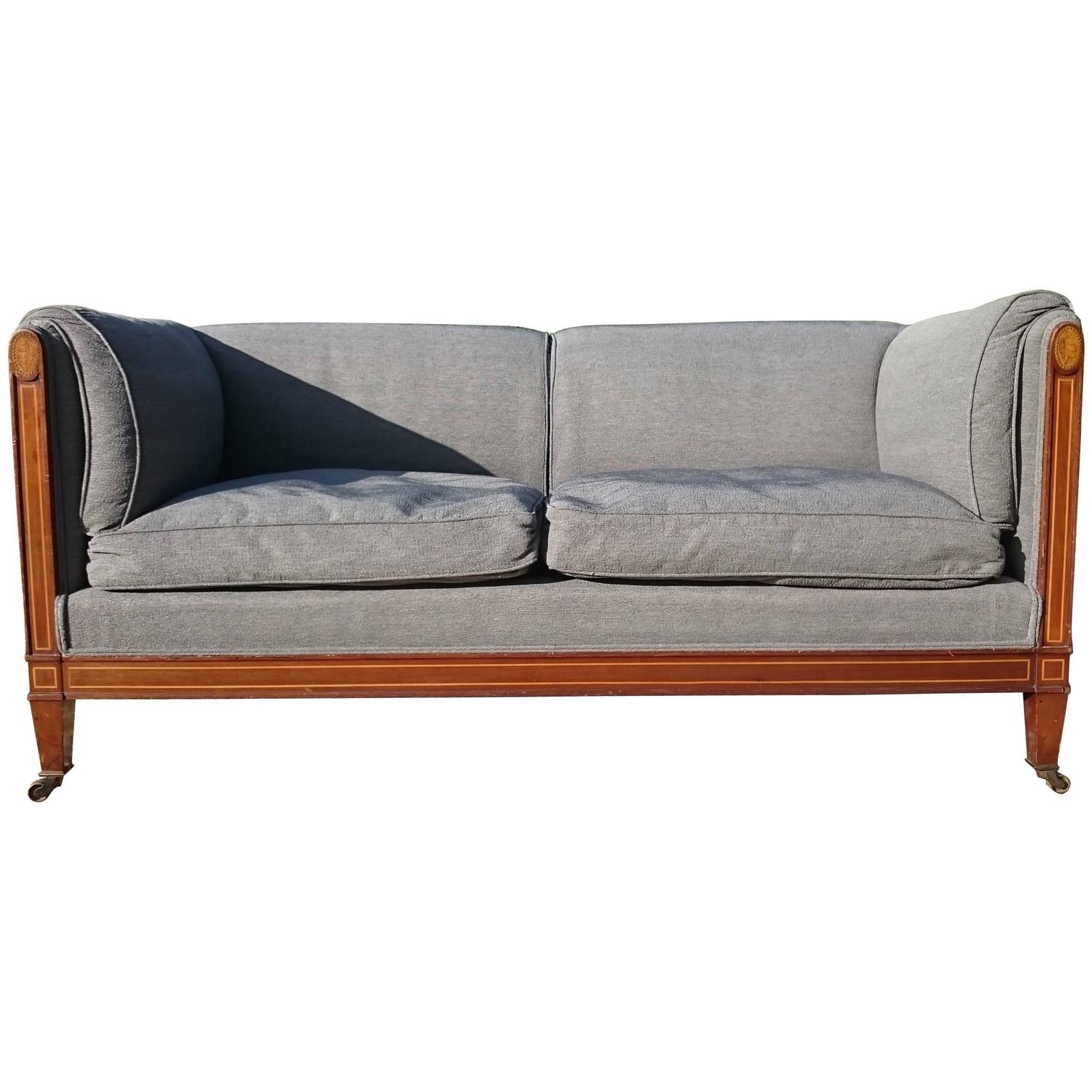 Si Ge De Duvet Sofa By Howard And Sons Of London For Sale At 1stdibs