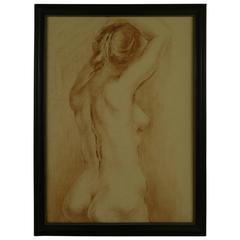 """Female Torso"" Painting"
