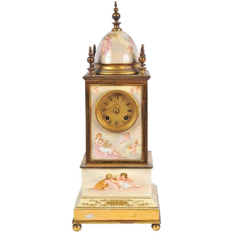 19th Century Mantel Clock For Sale