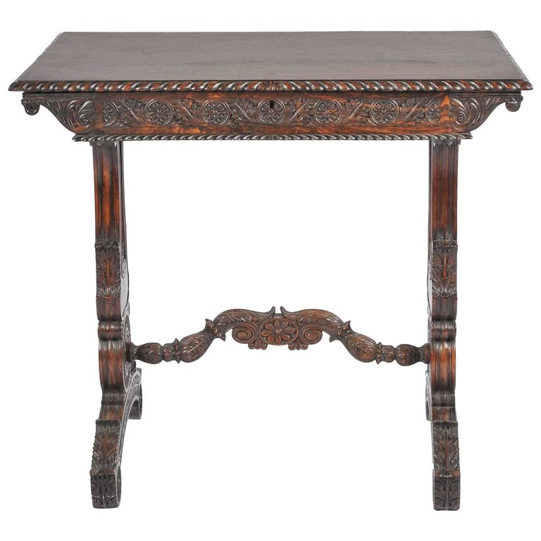 Great Anglo Indian Side Table 1