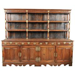 19th Century Ceylonese Padouk Wood Dresser