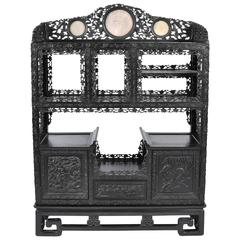 19th Century Chinese Hardwood Cabinet