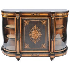 19th Century Marquetry Side Cabinet or Credenza