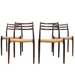 Dining Chairs Niels O. Møller Model 78