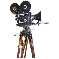 Mitchell Model A 35mm Movie Camera 1919 Design, Hand Crank As Sculpture ON SALE
