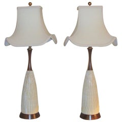Pair of Art Deco Style Lamps