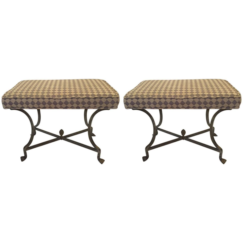 Upholstered X Bench Ottoman X Bench Upholstered Ottoman Stool Palm By Lillyandcopalmbeach