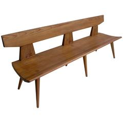 Pinewood Bench by Jacob Kielland-Brandt for I. Christiansen