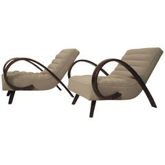 Dramatic Sculpted Armchairs