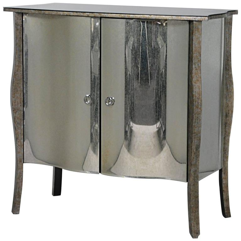 this art deco style mirrored cabinet is no longer available
