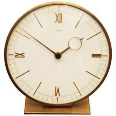 Mid-Century Table Clock by Kienzle