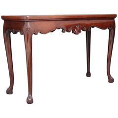 18th Century Georgian Mahogany Serving Table