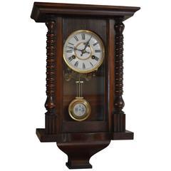 Small Regulator Style Wall Clock
