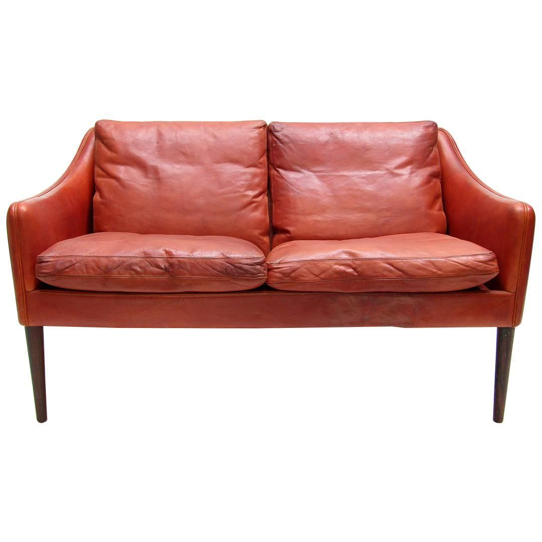 Two Seat Sofa Or Loveseat By Hans Olsen For Sale At 1stdibs