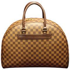 Oversized Louis Vuitton Travel Bag, Damier Pattern