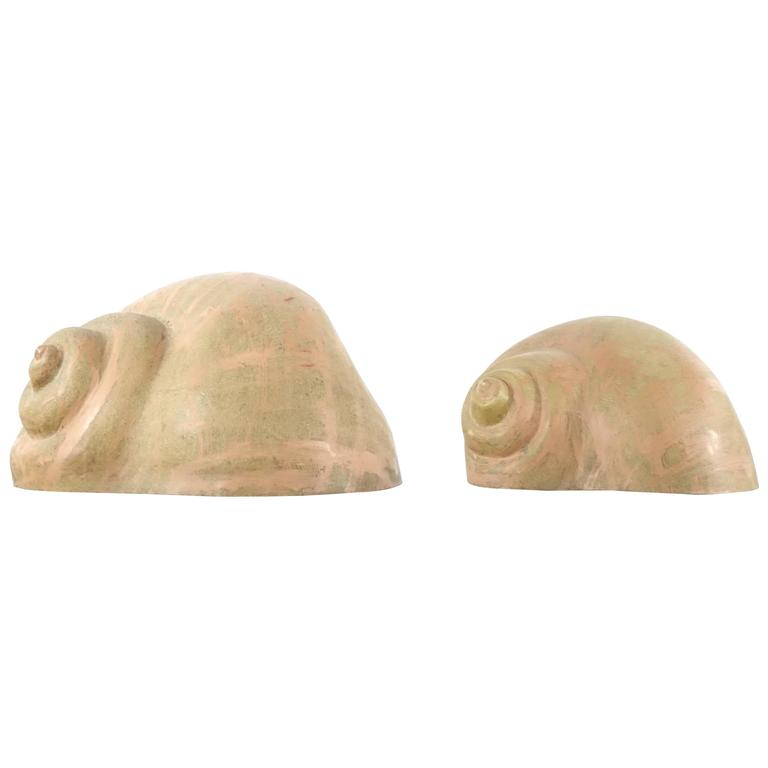Pair of Pop Art Sergio Camilli Snail or Chiocciolona for Bieffeplast
