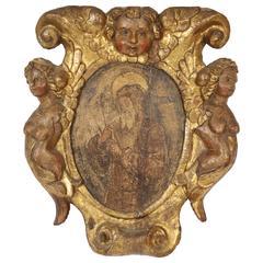 18th Century Icon Plaque