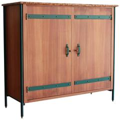 Impressive Jacques Adnet Cabinet