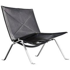 Poul Kjaerholm PK22 Lounge Chair E Kold Christensen, 1956