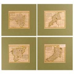Four Unframed Polychrome Maps