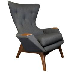 Adrian Pearsall Wingback Lounge Chair for Craft Associates