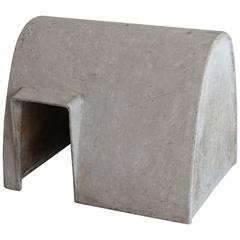 Willy Guhl Concrete Doghouse