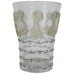 """René Lalique Vase """"Danseuses"""""""