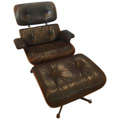 Charles and Ray Eames 670-671 Lounge Chair and Ottoman