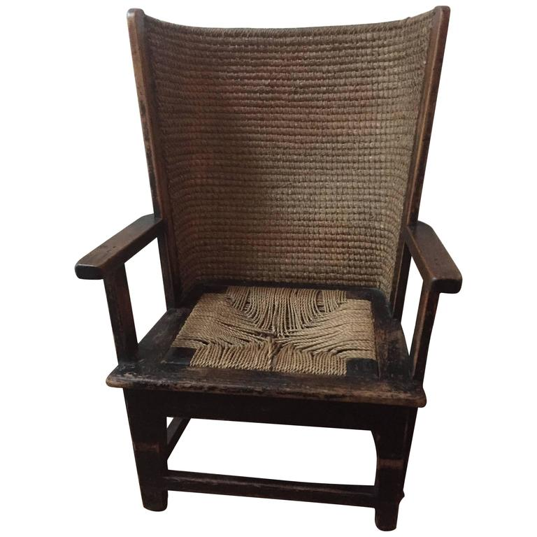 Beau Childs Orkney Chair For Sale