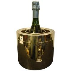 Art Deco Gucci Italy Equestrian Champagne, Wine Cooler