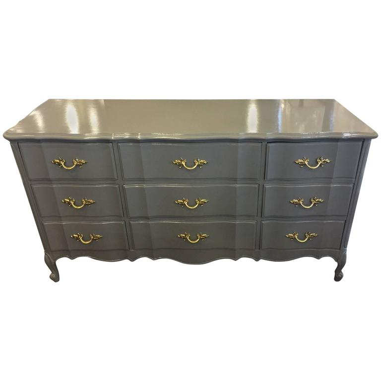 Stunning Dixie Nine Drawer Dresser Lacquered For Sale at  : 5499743l from www.1stdibs.com size 768 x 768 jpeg 26kB