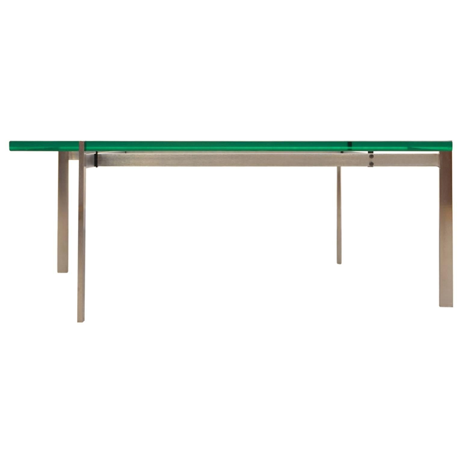 Poul Kjaerholm Coffee Table PK61 for E. Kold Christensen, Denmark