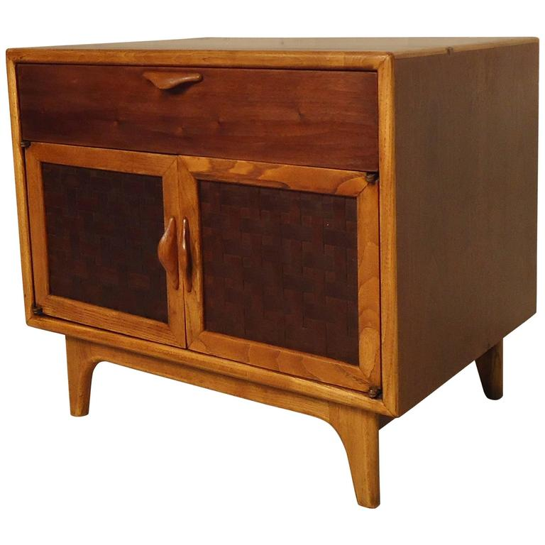 Vintage Modern Nightstand by Lane