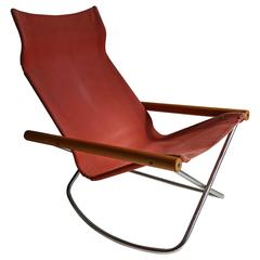 "Takeshi Nii ""NY"" Folding Rocking Chair"