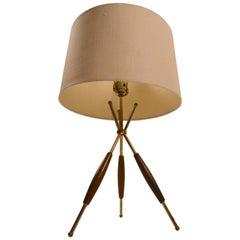 Thurston for Lightolier Tri Pod Table Lamp