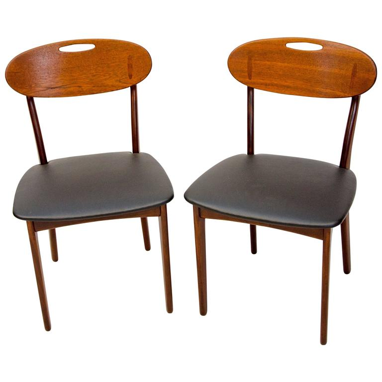 Pair of Danish Dining Chairs