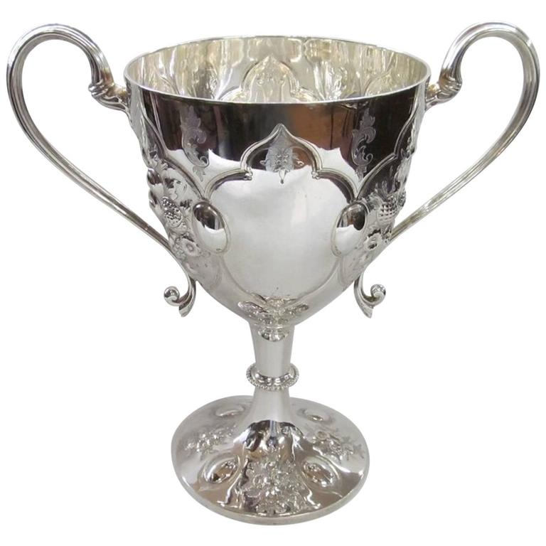 Loving or trophy cup, 1860s