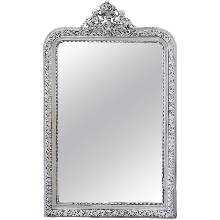 Louis Phillipe Style Mirror with Cherubs