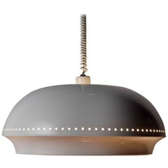 """""""Nigritella"""" Enamel and Glass Hanging Lamp by Afra & Tobia Scarpa for Flos, 1962"""