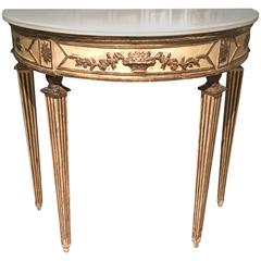 Italian Neoclassical Console Table, circa 1800