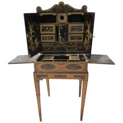 """""""Sheraton"""" Dressing Table style for export, China 19th Century"""