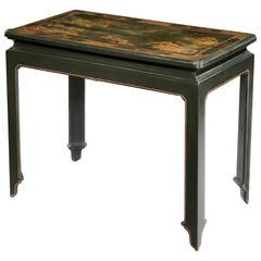 George I Japanned Side Table