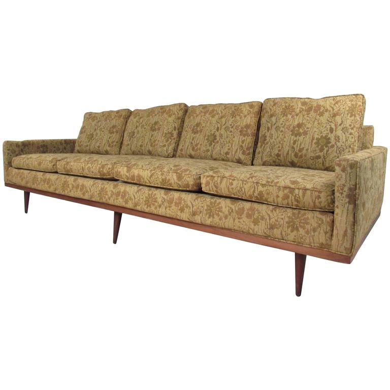 Milo Baughman Sofa For Thayer Coggin For Sale