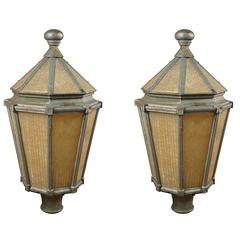 Pair of Post Lamps
