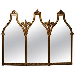 Oversized Italian Archtop Mirror