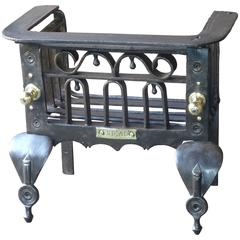 18th Century Dutch Fireplace Grate, Fire Grate